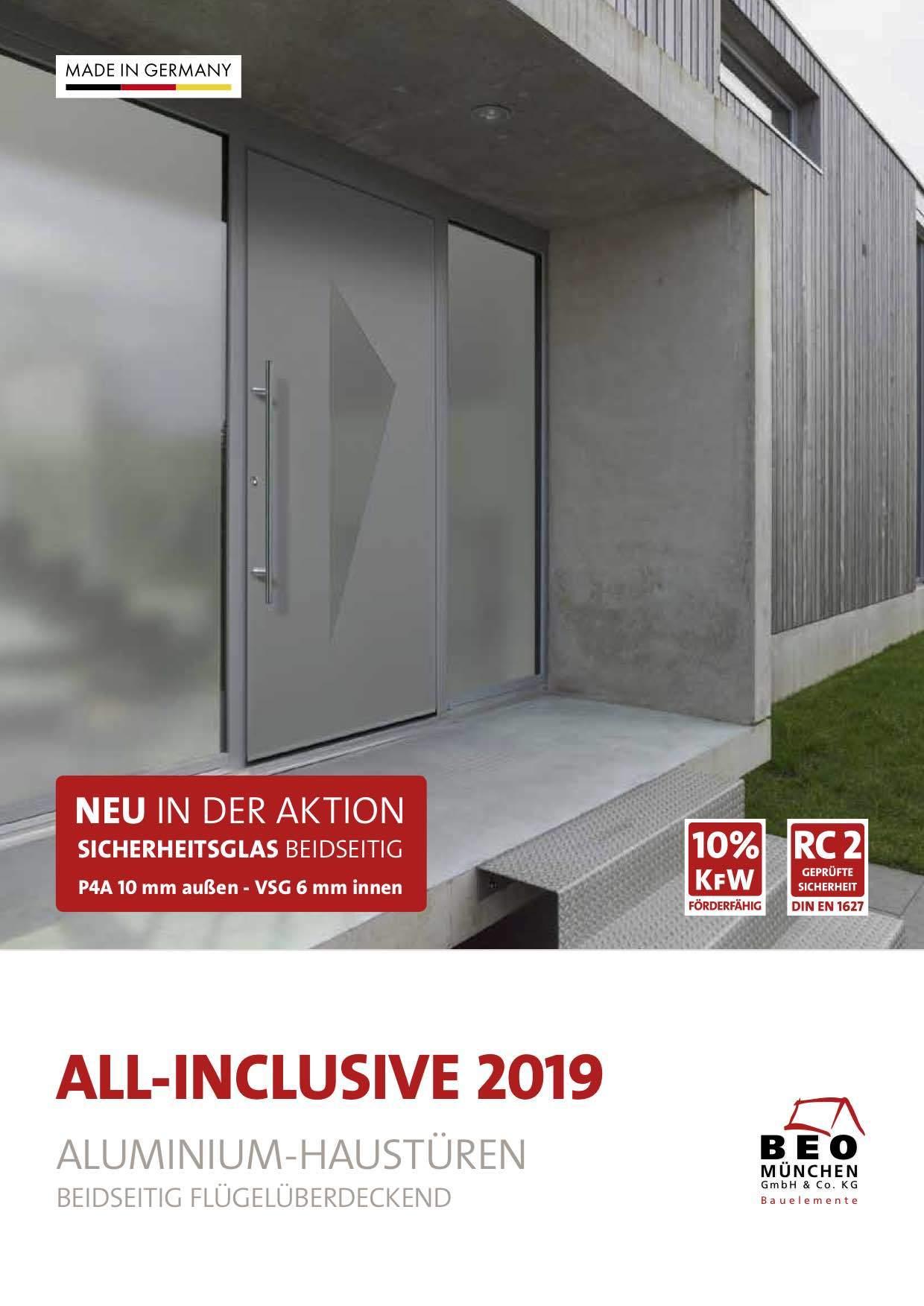Haustüren münchen aktion